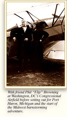 L. Ron Hubbard with friend Phil 'Flip'